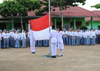upacara pertama